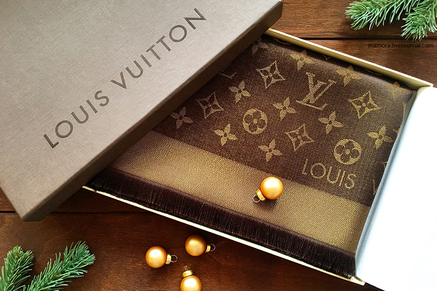 Шаль Louis Vuitton Monogram Shine