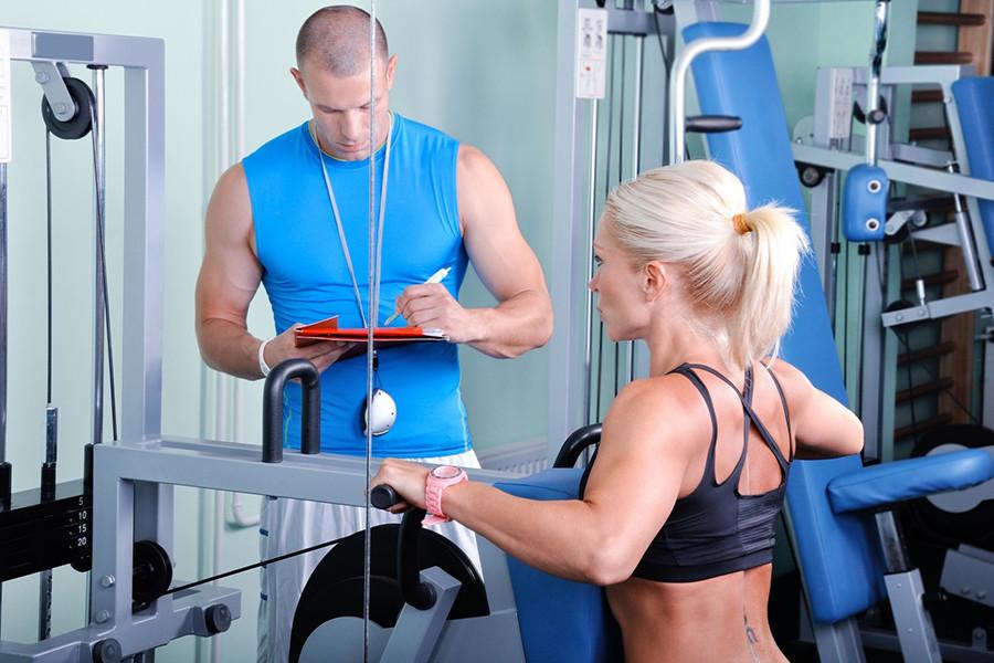 Кое-что про работу фитнес-тренеров