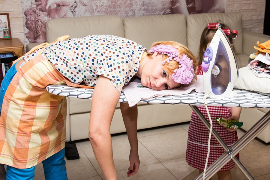 Жена = домработница?