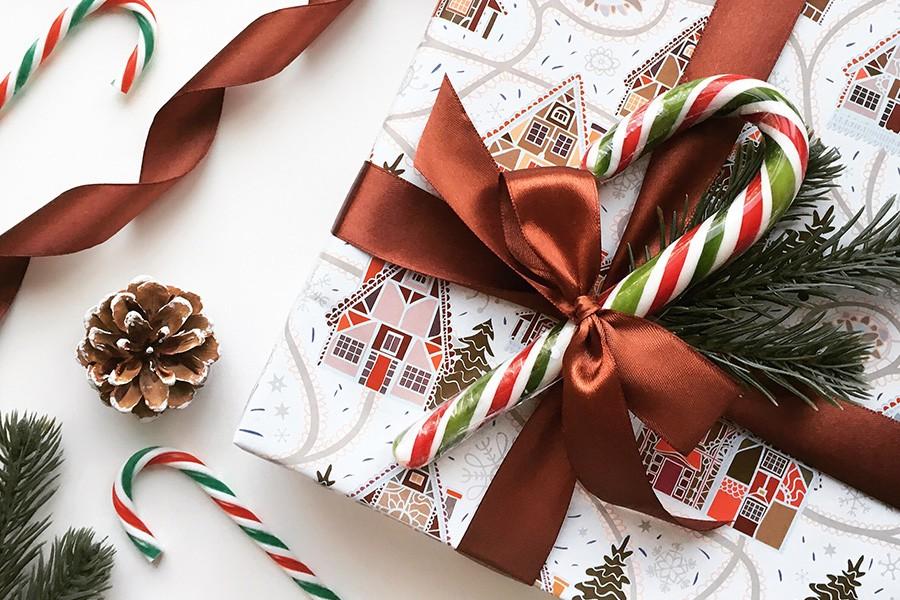 Скоро Новый год! Как оформить подарок?