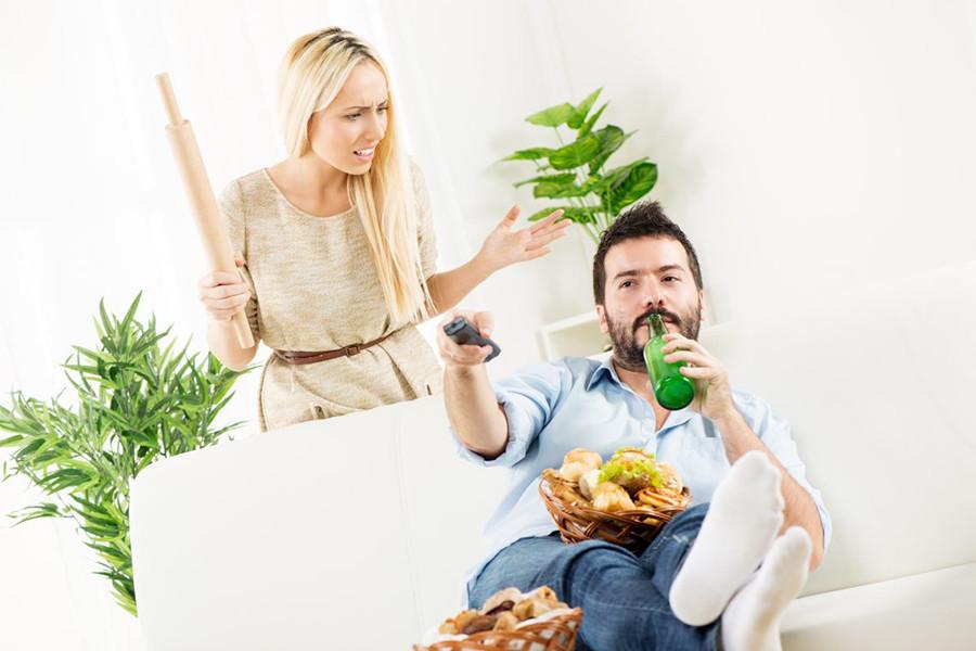 Проучила мужа-бездельника