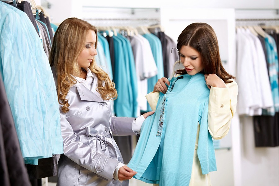 Конфуз в магазине одежды