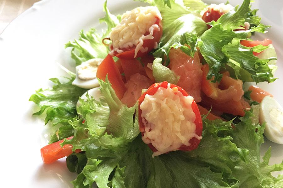 Восточный салат «Ильхом» для новогоднего стола