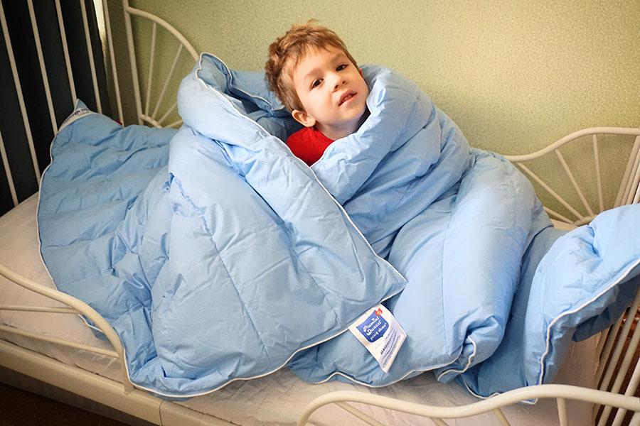Какое одеяло я выбрала для ребенка?