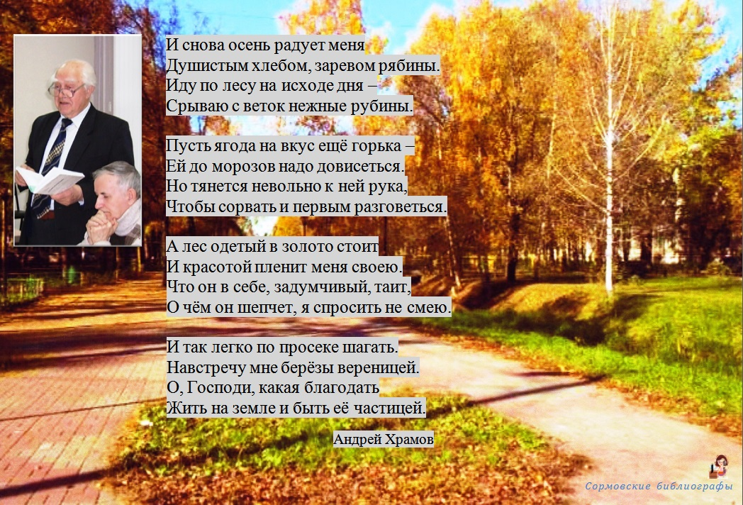 И снова осень радует