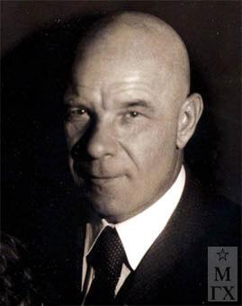 Петр Иванович Котов. 1936 г.