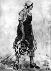 Работница Красного Сормова. 1936.