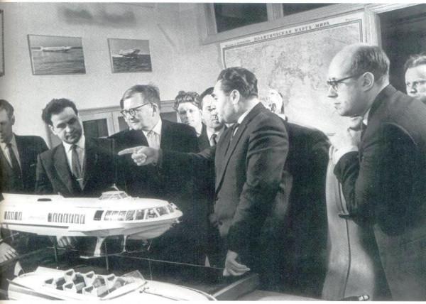 Дмитрий Шостакович и Мстислав Растропович в гостях у сормовичей