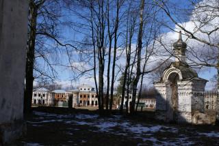 версаль, вид из церкви