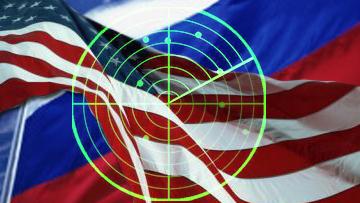 США-Россия мешень