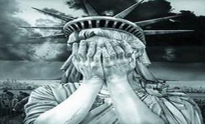 США плачет