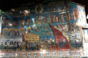 Храм Св. Георгия Победоносца в монастыре Воронец