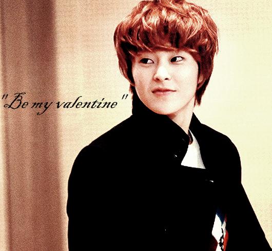 Be my valentine xiumin