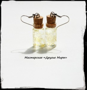 серьги бутылки 4