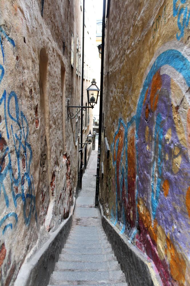 Самая узкая улочка в старом городе