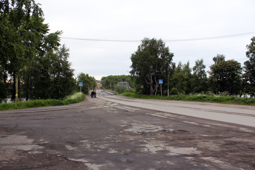 Ул Пашкова Мост через реку Сорока