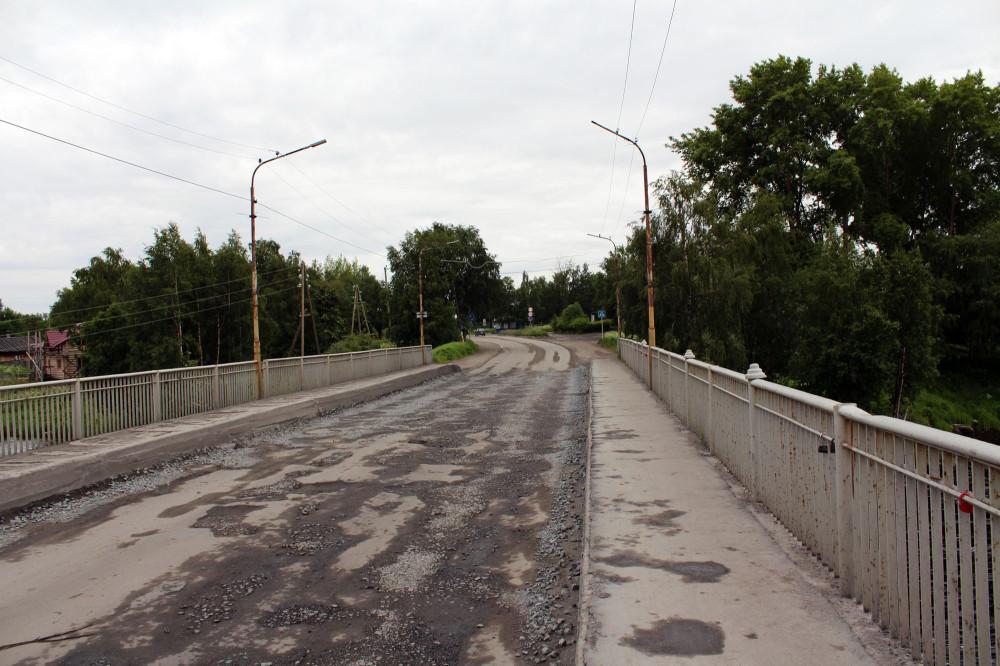 Мост через реку Сорока