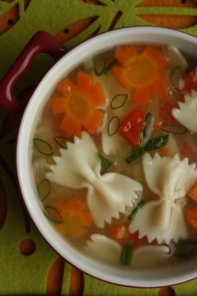 Первые блюда_Суп цветочный