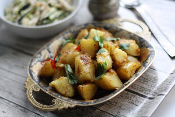 Вторые блюда_Картофель по-бомбейски1