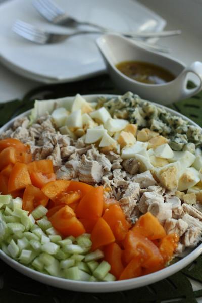 Закуски_Кобб салат