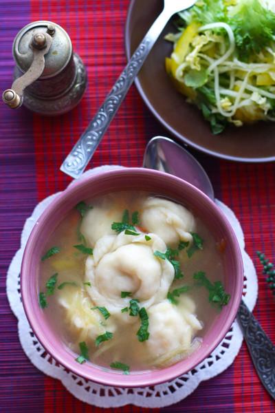 Первые блюда_Суп с пельменями1