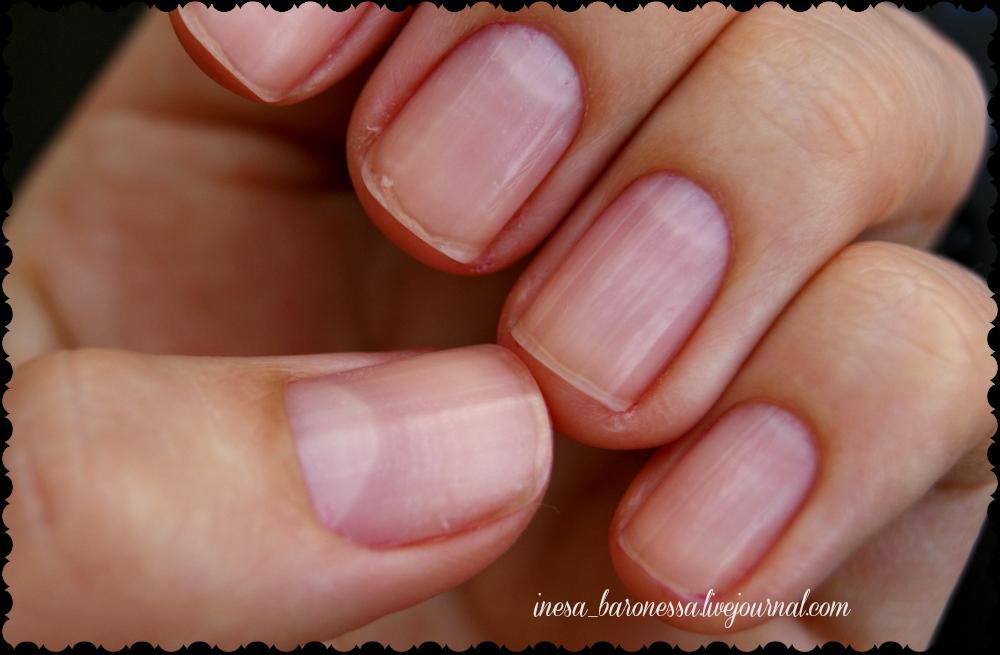 Маникюр на коротких ногтях без лака