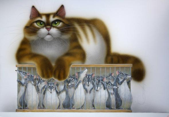 Стахеев - Кот и мыши