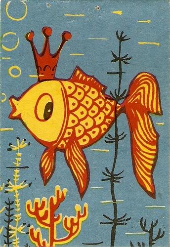 нарисовать героя из сказки о рыбаке и рыбке