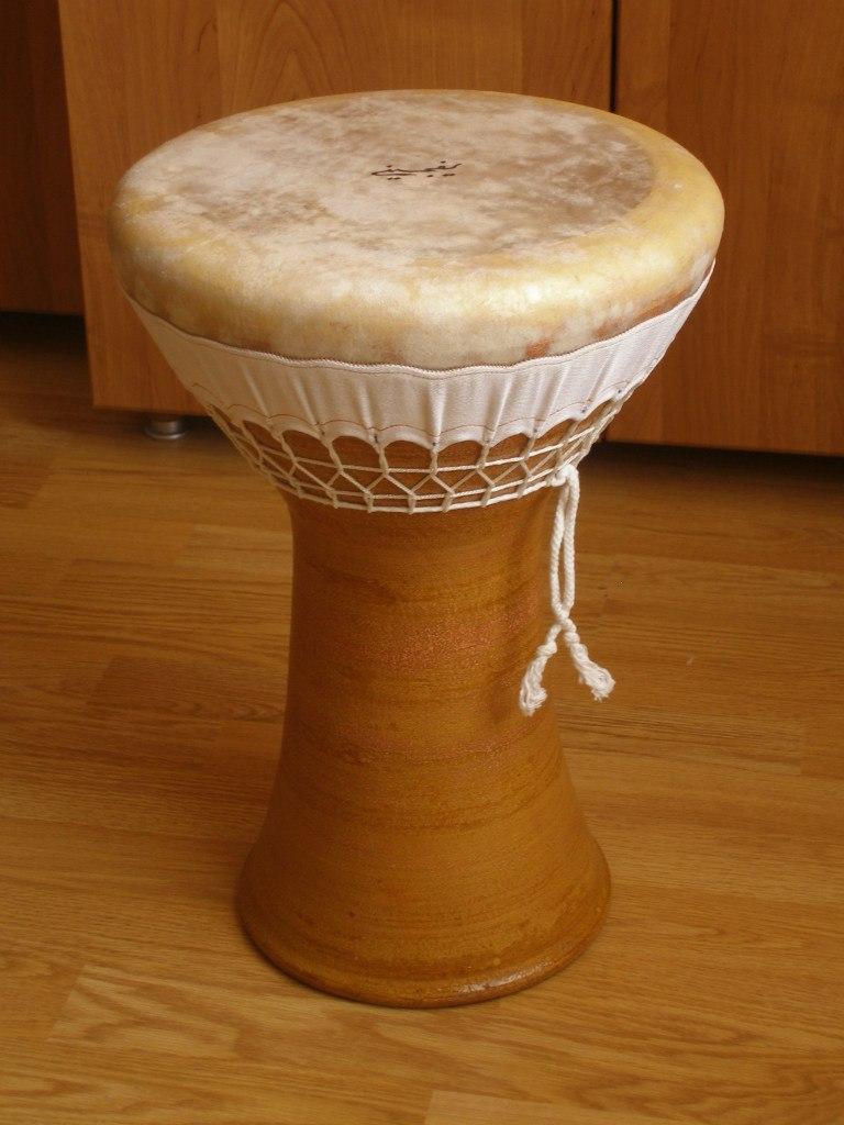 Керамическая дарбука профессиональный инструмент