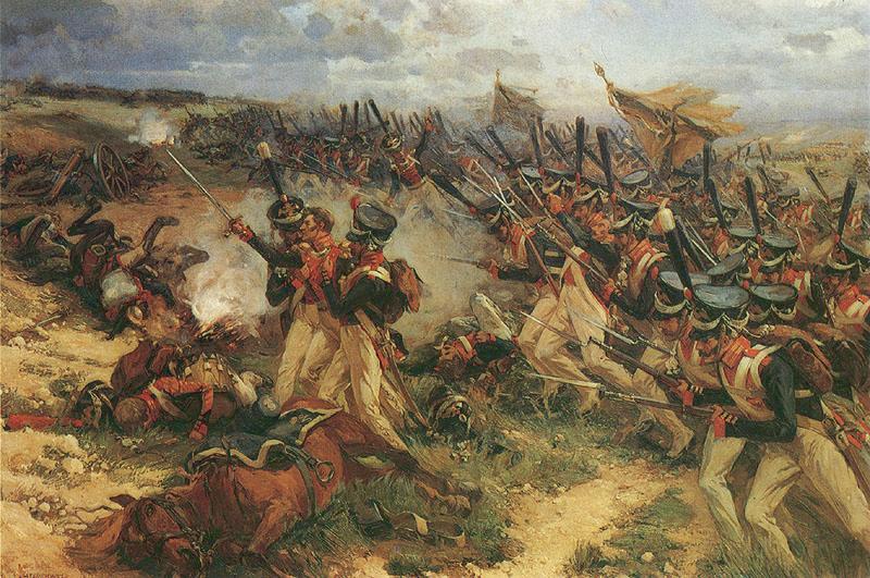 Lejb_Guard_Litov_attack_at_Borodino