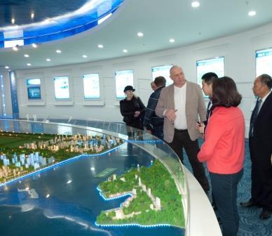 Посещение выставочного комплекса г. Чжаньцзян