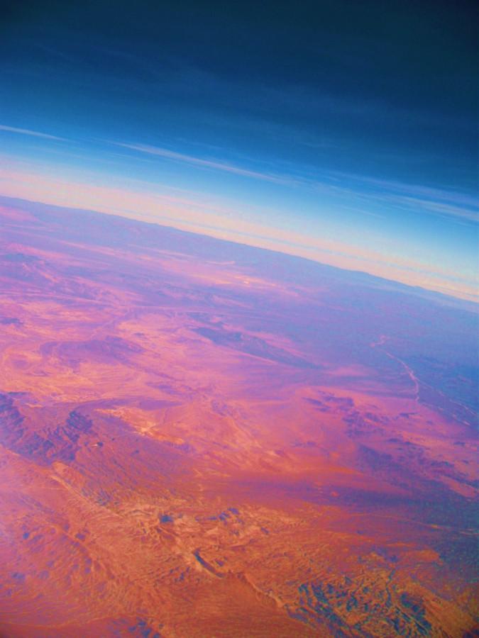 Die Atacama von oben