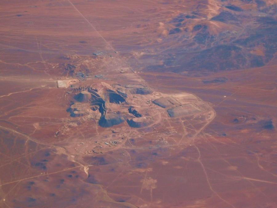 Chuquicamata (Die bedeutendste Kupfermine Chiles)