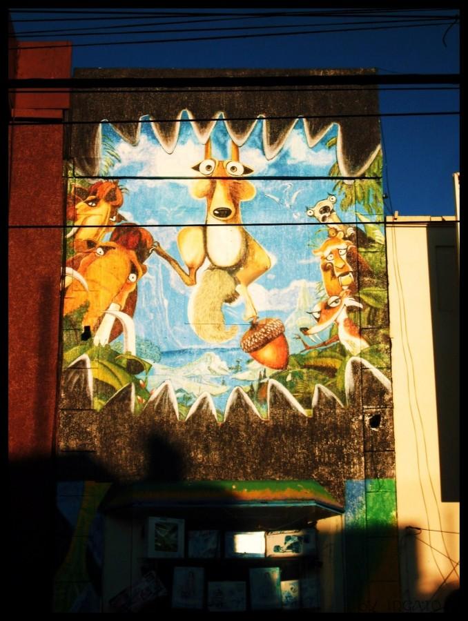 Street Art á la Chile <3
