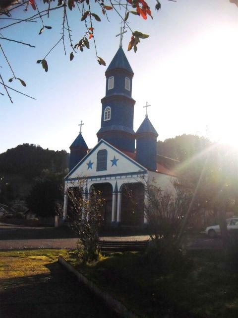 Kirche von Tenaún - die schönste Chiloés für mich :)
