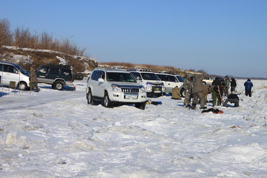 Рыбаки на Воронеже