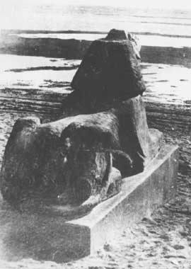 сфинкс на берегу Залива