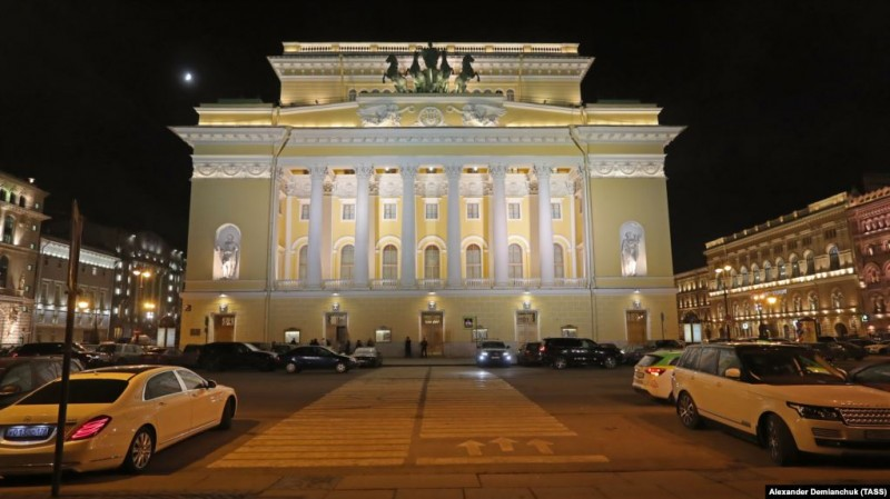 Александринский театр в Санкт-Петербурге
