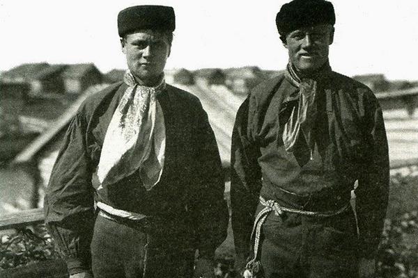 Поморская мода начала ХХ века