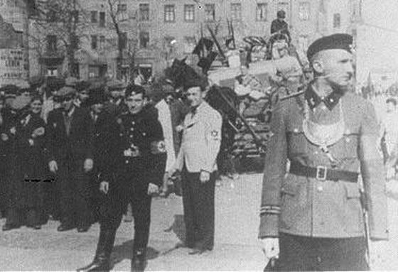 Еврейские коллаборационисты во Второй Мировой
