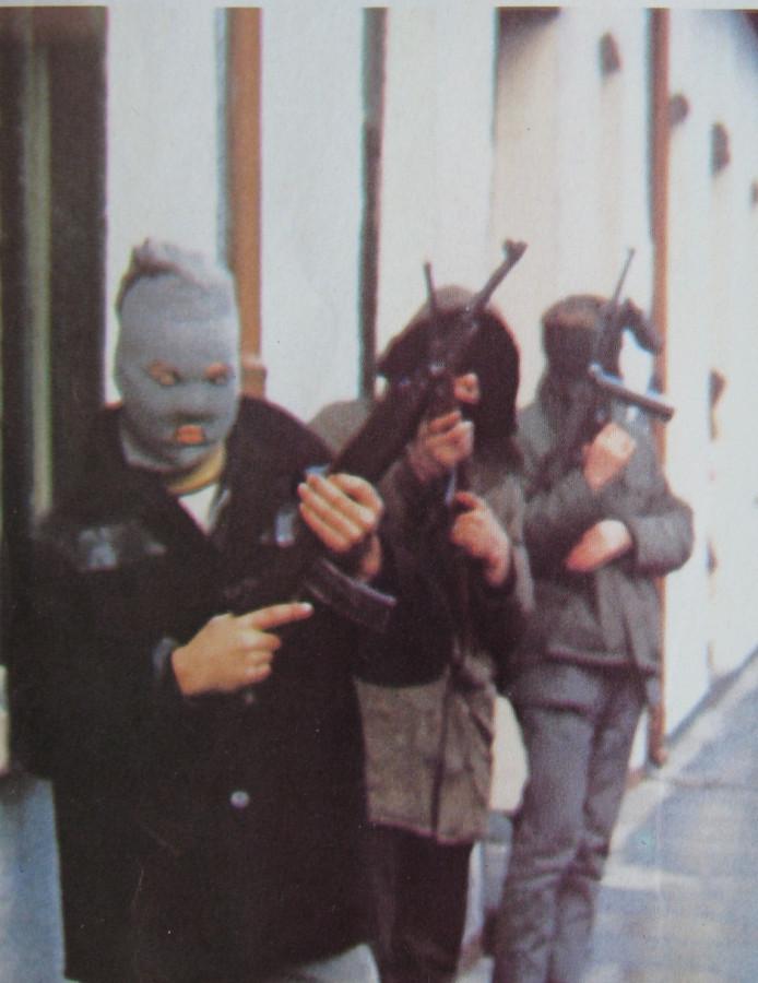 Derry IRA patrol 2