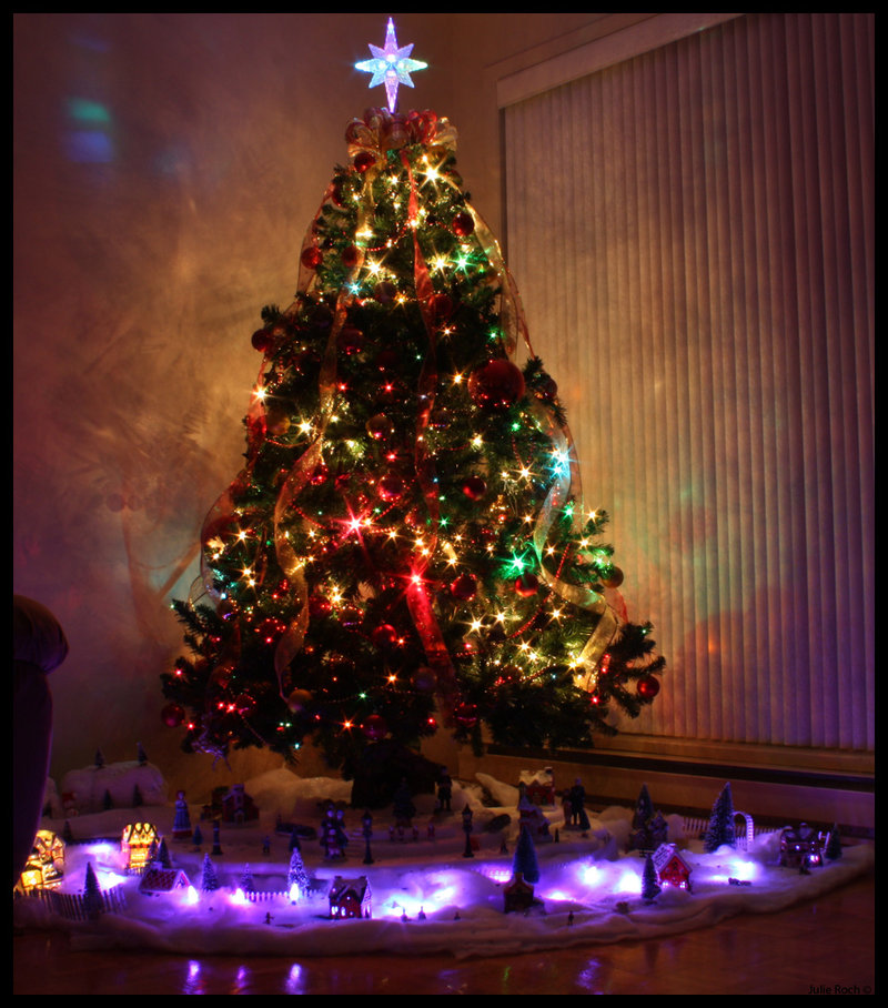 Смотреть фото елка дома