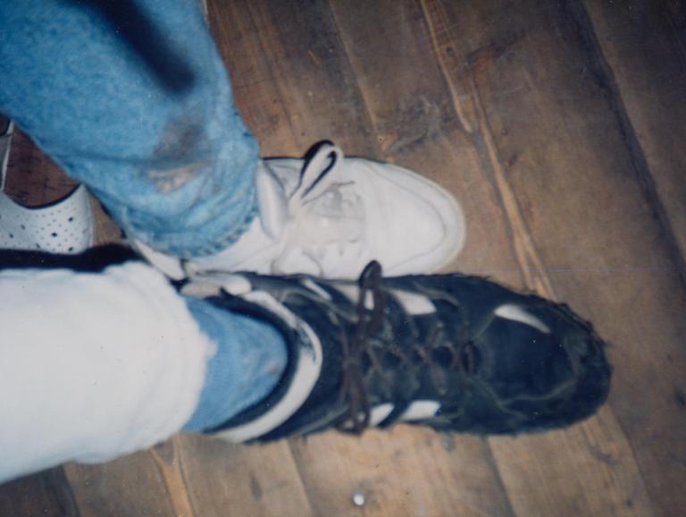 ноги в сравнении