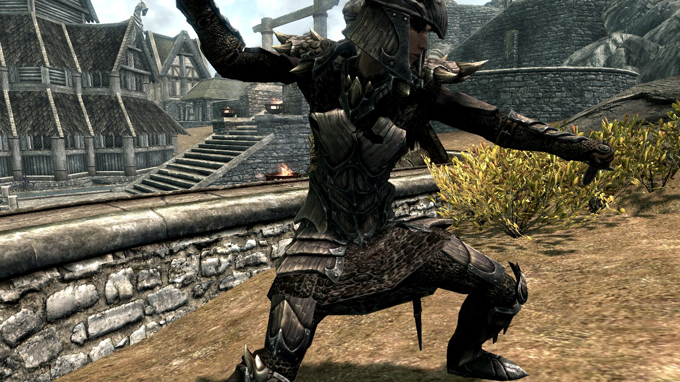 skyrim how to get dragon bones and scales