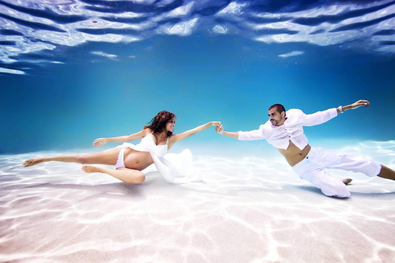 Resultado de imagen para embarazadas en el mar