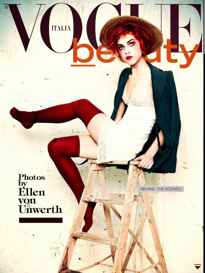Emma Stern Nielsen  Line Brems by Ellen Von Unwerth