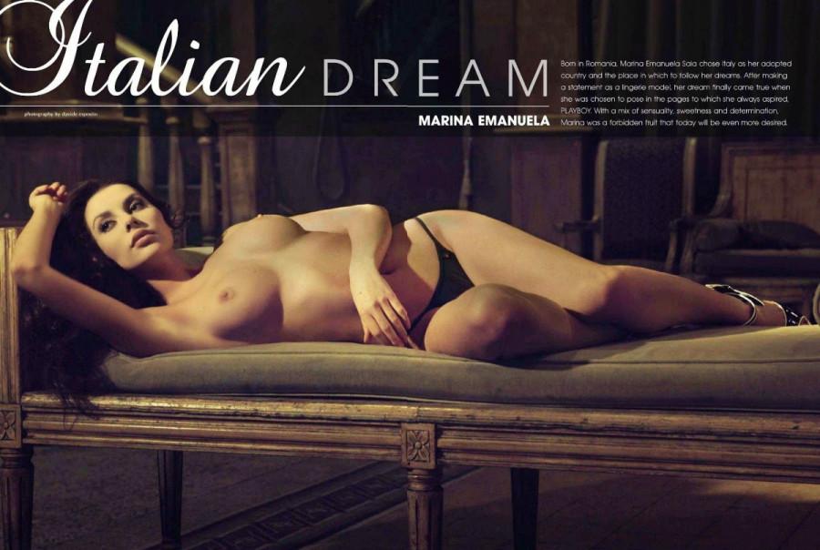 Marina Emanuela playboy