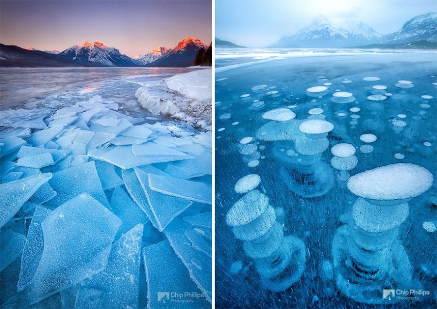 Замороженные озёра