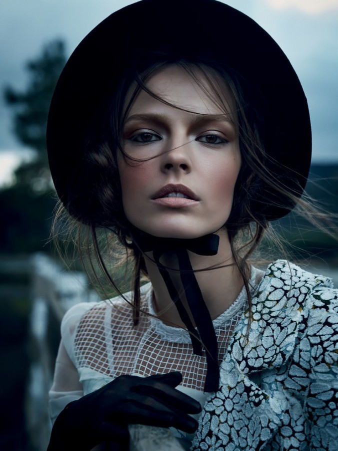 tale of wandering: mina cvetkovic by nathaniel goldberg for vogue russia march 2015