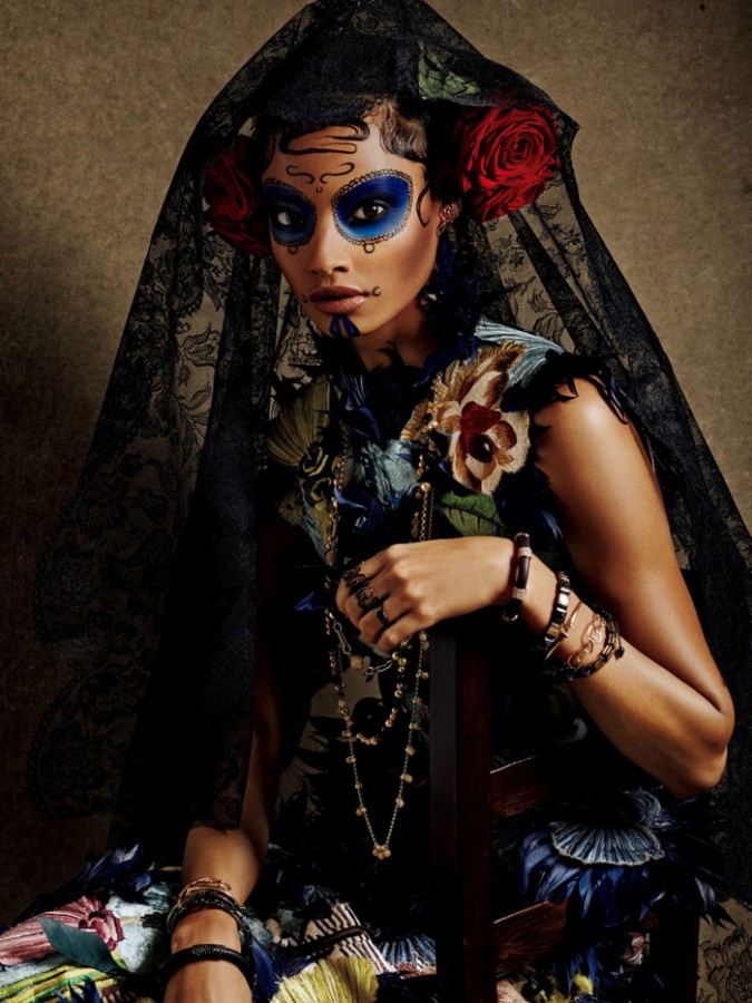 Malaika Firth by Giampaolo Sgura Vogue Japan may 2015